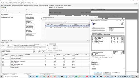 Amélioration du modèle de devis du suivi de chantier et de facturation Gescant pour mac et pc 16.17