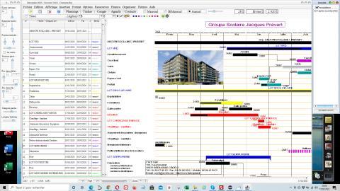 logiciel de planning pour PC Windows et Mac OS X