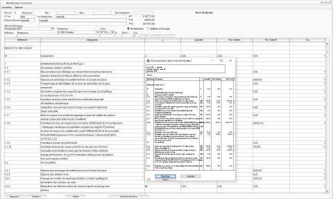 modèle 1 de devis du logiciel de suivi de chantier Gescant mac et pc 17.05