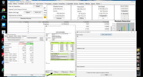 Amélioration du modèle 10 de facture du logiciel de facturation des honoraires de Maîtrise d'Oeuvre Médicis 23.06