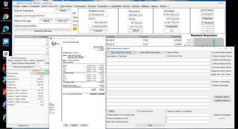 Amélioration du modèle 15 de facture du logiciel de facturation des Honoraires de Maîtrise d'Oeuvre Médicis 23.06