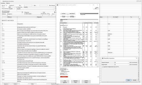 Modèle 2 de devis du logiciel de Suivi de Chantier Gescant Mac et PC 17.05