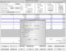 nouvelle numération des factures honoraires Architecte Médicis 19.20