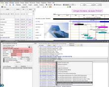 chainage début à début avec le logiciel de planning pro faberplan pour mac os x et pc windows
