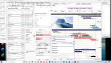 chaînages de tâches logiciel de planning Pro Faberplan pour Mac et PC v15.11