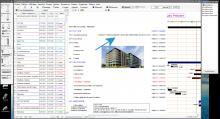 Nouvelle possibilité d'insertion simultanée des entreprises et dates dans la marge de gauche du logiciel de planning Faberplan Mac et PC v16.09