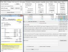 modèle 12 de facture de la gestion des honoraires Médicis pour Mac et PC