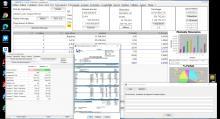 Nouveau modèle 14 de facture dans le logiciel de facturation des honoraires de Maîtrise d'Oeuvre Médicis Mac et PC v23.05
