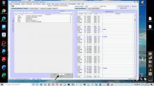 tri des opérations/clients dans la gestion des temps passés et le pointage des heures Séquora 16.06